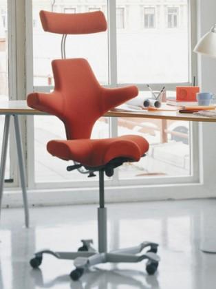 sedia ergo hag capisco 8107 8106 l 39 ufficio e l 39 arredamento. Black Bedroom Furniture Sets. Home Design Ideas